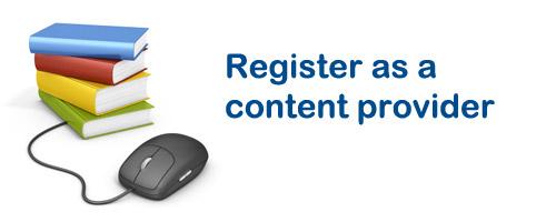 register content provider
